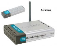 D-Link DWL-922 Wireless G Router Kit (include 1 DI-524, 1 DWL-G122)