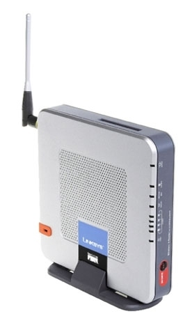 Linksys Wi-fi Router For 3G / UMTS WRT54G3G-EM